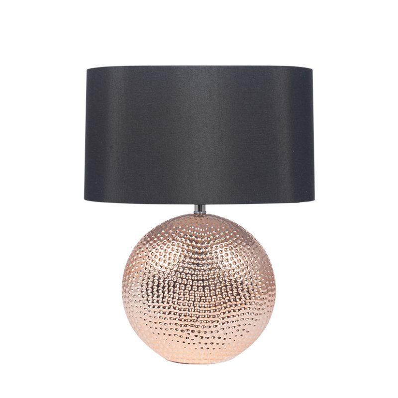 Copper Ceramic Table Lamp