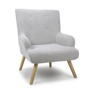 Cinema Silver Grey Armchair