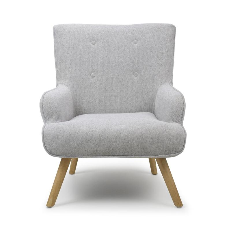 Cinema Silver Grey Armchair