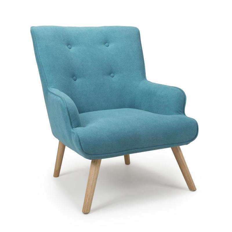 Cinema Turquoise Blue Armchair