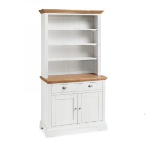 Hampstead Two Tone Open Rack Dresser