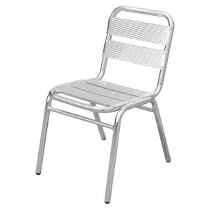 OUTDOOR ALUMINIUM STACKING CHAIR