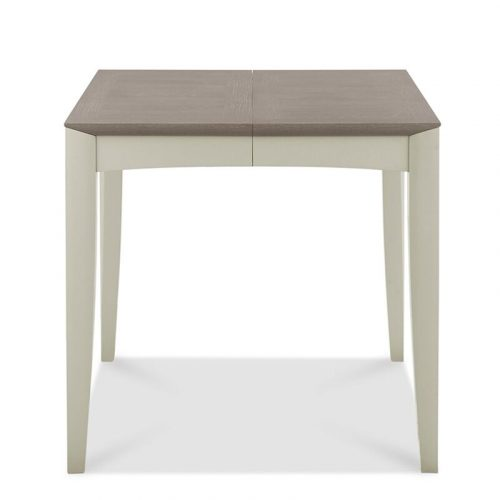 Bergen 2-4 Extension Dining Table Grey Washed Oak And Soft Grey