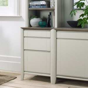 Bergen Soft Grey Filing Cabinet