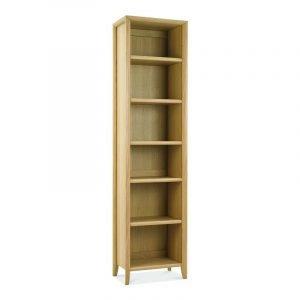 Bergen Oak Narrow Bookcase