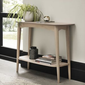 Dansk Console Table With Shelf