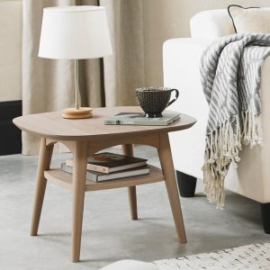 Dansk Lamp Table With Shelf
