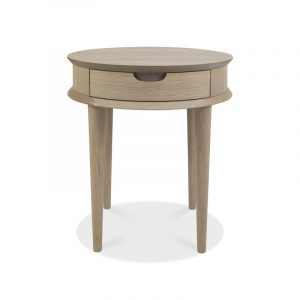 Dansk Lamp Table With Drawer