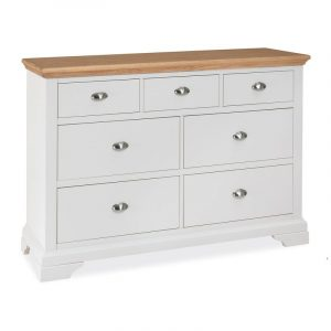 Hampstead Two Tone 3 Plus 4 Drawer Chest