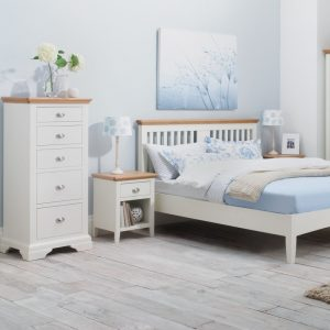Hampstead Two Tone Double Slatted Bedstead