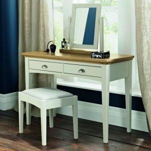 Hampstead Soft Grey Bedroom Stool