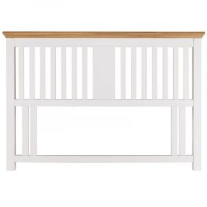 Hampstead Two Tone King Slatted Headboard