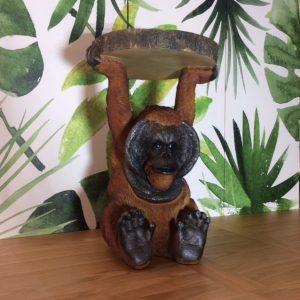 Olly The Orangutan Side Table.