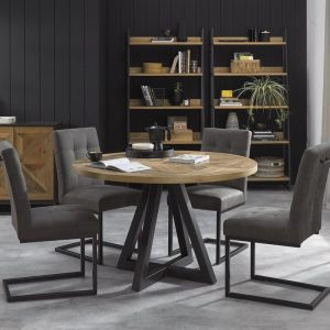 Indus 4 Seater Circular Dining Table