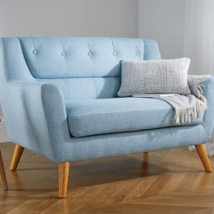 Lambeth Two Seat Sofa in Duck Egg Blue or Grey