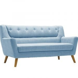 Lambeth Three Seat Sofa in Duck Egg Blue or Grey
