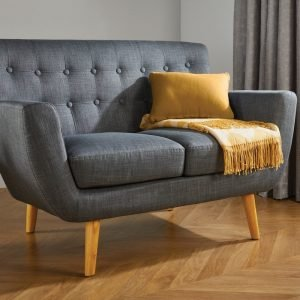 Loft Two Seater Sofa in Grey