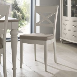 Montreux Grey X-Back Dining Chair (Pair)