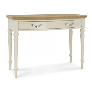 Montreux Oak And Antique White Dressing Table