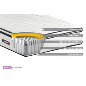SleepSoul Space mattress Small Double