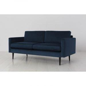 Model 01 Velvet 2 Seater Sofa - Teal