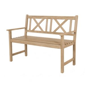 Light Teak Acacia Wood Bench