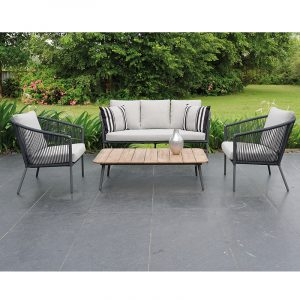 Reims Lounge Set Grey