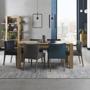 Turin Light Oak Medium End Extension Table