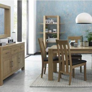 Turin Oak Glazed Dresser