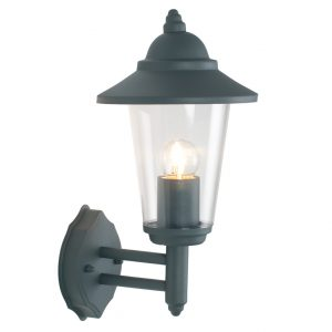 Round Outside Lantern Wall Light