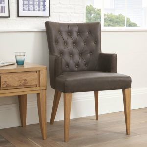 High Park Upholstered Arm Chair (Pair)