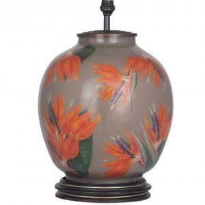Jenny Worrall Bird of Paradise Glass Large Lamp (base)