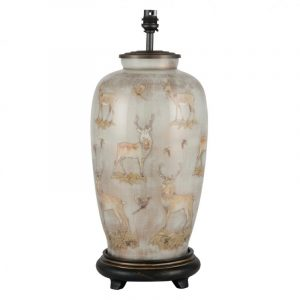 Jenny Worrall Deer Tall Glass Table Lamp (base)