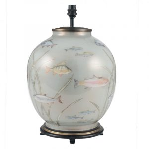 Jenny Worrall Fish Large Glass Table Lamp (base)