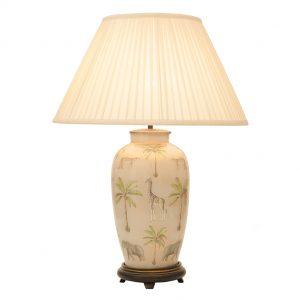 Jenny Worrall Safari Tall Glass Table Lamp (base)