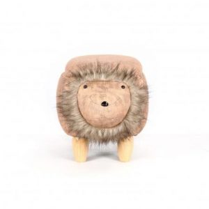 Lion Footstool with Storage