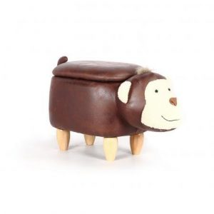 Monkey Footstool with Storage