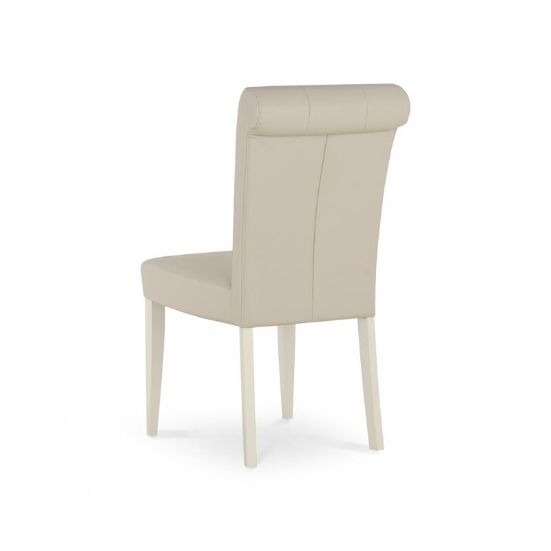 Montreux Chair Upholstered - Antique White