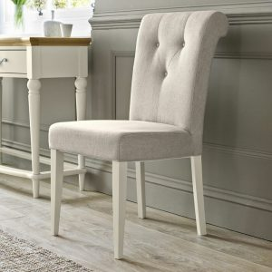 Montreux Antique White Upholstered Chair (Pair)