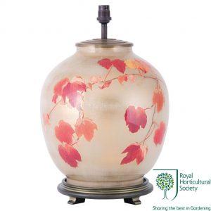 Jenny Worrall RHS Collingridge Vine Large Glass Table Lamp