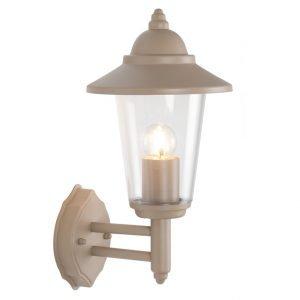 Round Outside Lantern Wall Light