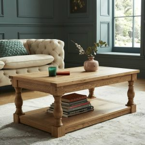 Westbury Rustic Oak Coffee Table