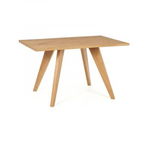 Cadell Rustic Oak 4 Seater Dining Table