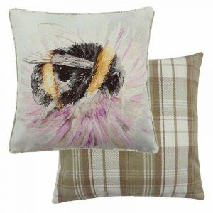 Watercolour Bee Cushion