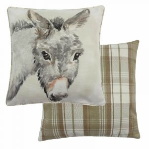 Watercolour Donkey Cushion