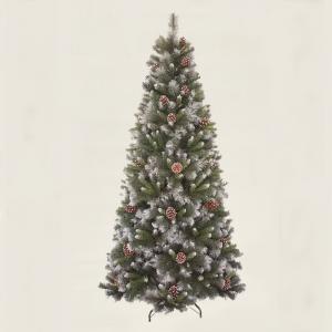 210cm (7ft) Artificial Glacier Pine Christmas tree