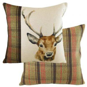 Hunter Stag Cushion