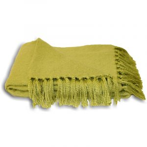 Chiltern Throw Lime Green