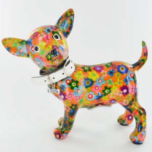 Pomme-Pidou Money Box Pippa the Chihuahua Dog