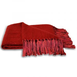 Chiltern Throw Red